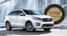 "Kia conquista ancora la classifica ""qualità"" di J.D. Power in Usa"