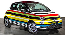 Milano Fashion Week, asta di beneficenza per la Fiat 500C Missoni by Lapo