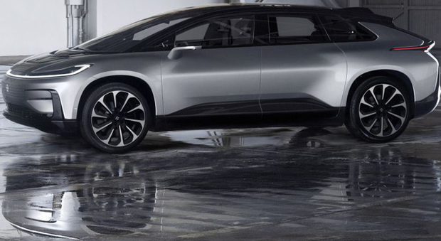 La Faraday Future FF91