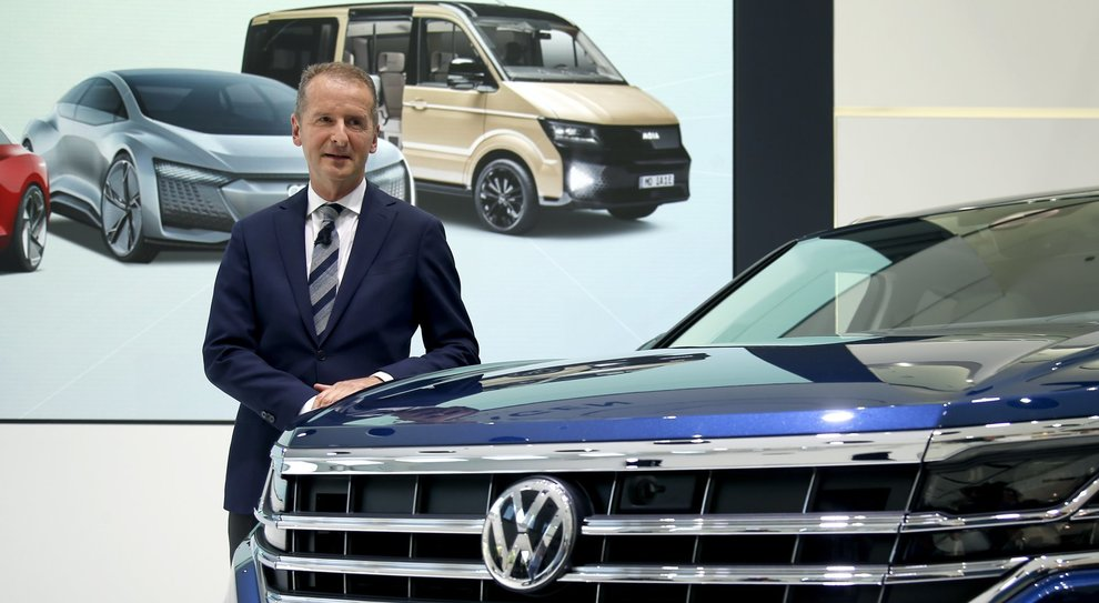 Herbert Diess, ceo di Volkswagen Group