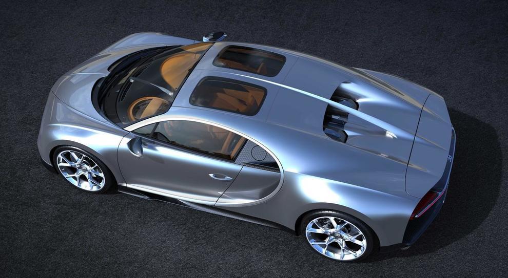 Bugatti Chiron Due Finestre Sul Cielo Per La Hypercar Con Il Nuovo