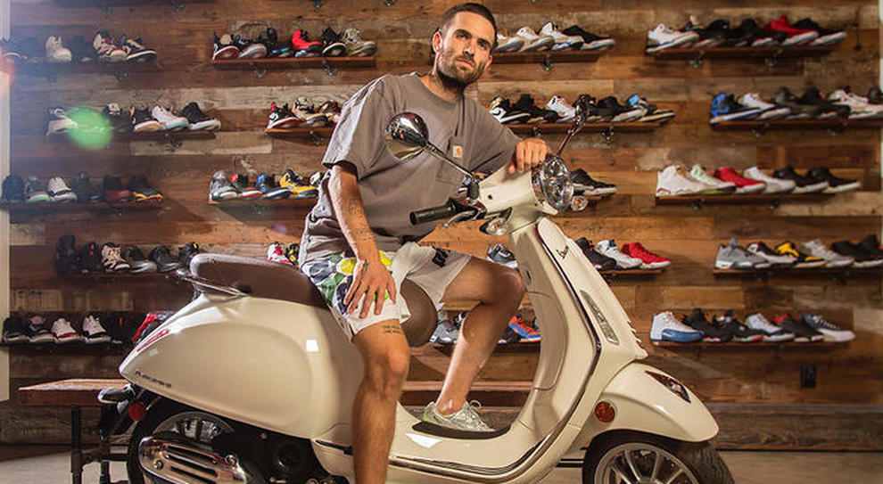 Sean Wotherspoon e Vespa