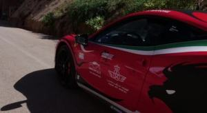 Fabio Barone conquista lo Speed World Record in Marocco a bordo della Ferrari 458 Italia